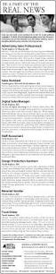 Monster Job Resume by Advertising Sales Professionals Job At North Of Boston Media Group