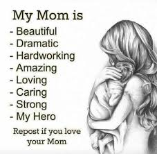 Love My Mom Meme - my daughter becca posted this for me made my day love you bec xx