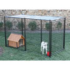 shop behlen country 10 ft x 5 ft x 6 ft outdoor dog kennel panels