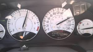 chrysler sebring 2 7 v6 135mph 210 kph youtube