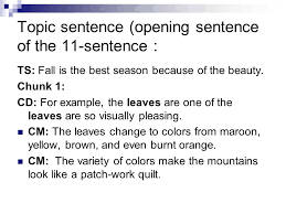 Why Fall Is The Best Season The Four Paragraph Essay Ppt Video Online Download