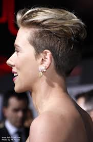 short haircuts for women with clipper scarlett johansson with very short clipper cut hair pixie
