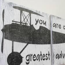 Vintage Airplane Nursery Decor Best Wood Crib Products On Wanelo