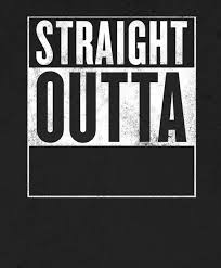 What Font Does Meme Generator Use - straight outta x blank template meme generator imgflip