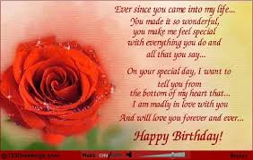 birthday wishes for wife from husband birthday love free