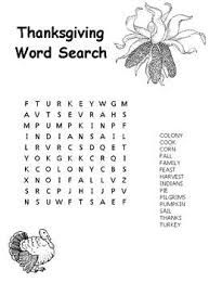 free word puzzles easy thanksgiving word search coloring