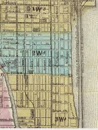 grant park chicago map the digital research library of illinois history journal lake