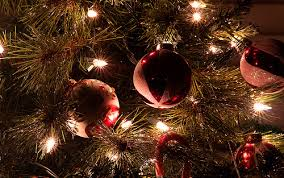 tree decorations lights ornaments image