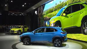 hyundai crossover hyundai expands lineup with debut of new kona crossover at la auto