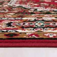 Area Rugs 5 X 8 Furniture Of America Shinta Rg5170 Red Traditional 5 X 8 Area Rug