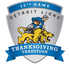 detroit lions unveil new thanksgiving day logo