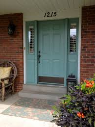 front doors beautiful painted front doors with sidelight 118