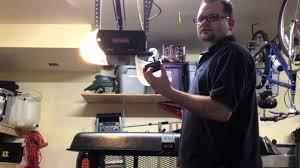 craftsman garage door opener iphone craftsman assurelink garage door opener uses iphone youtube