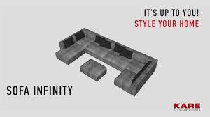 kare designs kare design sofa infinity
