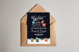 christmas party invitation card by squirrel92 on envato elements