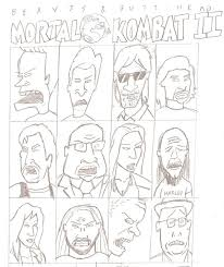 beavis and butthead do thanksgiving beavis and head in mortal kombat ii by jimmytwotimes2k9 on