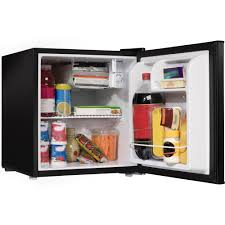galanz 1 7 cu ft one door refrigerator black walmart com