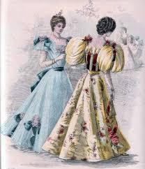 vv 1890s dress details