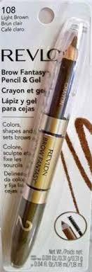 revlon brow fantasy light brown revlon brow fantasy pencil gel light brown 108 my girly stuff