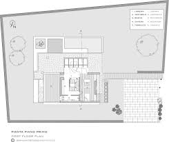 first floor plan picture for modern house of light maison de la