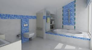 blue bathroom tile ideas contras blue and gray bathroom tile ideas 3506 home decorating