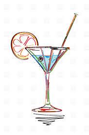 vintage cocktail vector vintage cocktail clipart