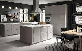 ikea kitchen cabinets gray bodbyn contoured deco gray ikea