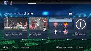 Uefa Chions League Playstation F C Uefa Chions League Ps4 App