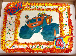 blaze birthday cake blaze monster truck birthday sweet treats
