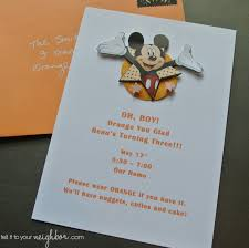 Mickey Mouse Invitation Cards Tell It To Your Neighbor Easy Mickey Mouse Invite Free Template