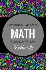Homeschool High Math Curriculum Textbooks 730 Sage Street