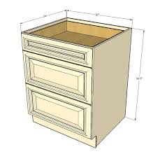 kitchen base cabinets with drawers tuscany white maple 3 drawer base cabinet 30 inch kitchen