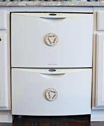 Dirty Clean Dishwasher Magnet Diy Wooden Slice Dishwasher Clean Dirty Magnet Simply Darr Ling