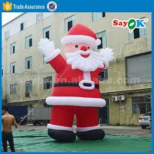 Large Inflatable Christmas Decorations by Funny Inflatable Christmas Decorations Santa Fire Truck Inflatable