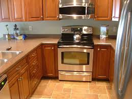 kitchen modern hood for electric stove on sleek top counter and