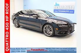 audi for sale houston used audi s7 for sale in houston tx edmunds