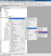create folder on android why android studio doesn t allow me to create java classes
