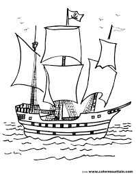 pirate ship coloring page create a printout or activity