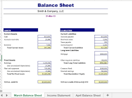 excel income statement u0026 balance sheet create an i chegg com