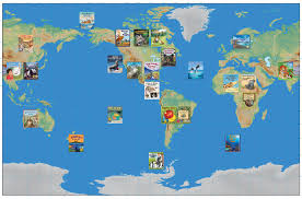 Interactive World Map For Kids by Arbordale Publishing