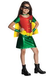 girls titans robin costume throughout robin halloween costume