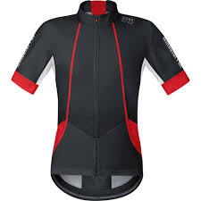 all weather cycling jacket wiggle gore bike wear oxygen windstopper softshell short sleeve