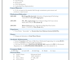 curriculum vitae sle format download mechanical engineer resume exles and tips astoundingechanical