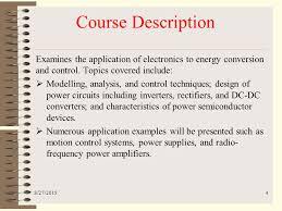 introduction to power electronics dr shahab ahmad niazi ppt