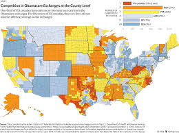 Choice Map Measuring Choice And Competition In The Exchanges Still Worse