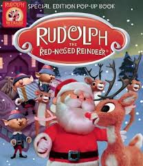 rudolph the nosed reindeer characters rudolph the nosed reindeer pop up book by marsoli