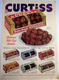1953 vintage candy ad curtiss baby ruth nuggets delicious bite