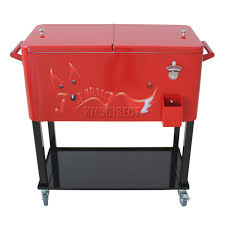 Vintage Metal Patio Furniture For Sale - furniture stunning design of patio cooler cart for cool outdoor