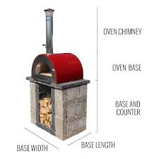 Backyard Pizza Oven Kit by Outdoor Pizza Oven Kit Wood Burning