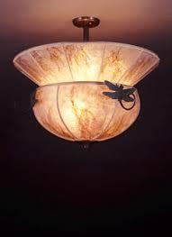 Dragonfly Light Fixture Dragonfly Ls Mica Ceiling Light Fixtures Sue Johnson Custom